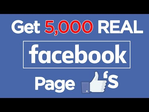 Get 5000 Facebook Page Likes in 1 DAY | 2018 Facebook Followers
