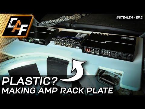 Making an Amplifier Rack