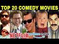 Top 20 COMEDY Movies Evermade By Hollywood (in Hindi Or English)
