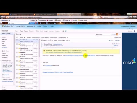How to upload audio files on Facebook account By Mansour_IT.mp4
