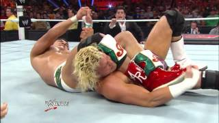 Dolph Ziggler cashes in Money in the Bank to become World Heavyweight Champion: Raw, April 8, 2013