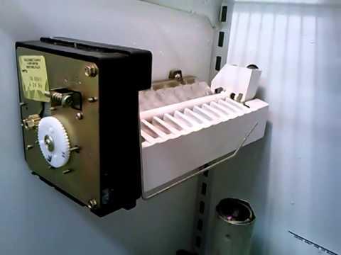 Using Heat Gun to Free Stuck Ice - Sub Zero Icemaker MOV383