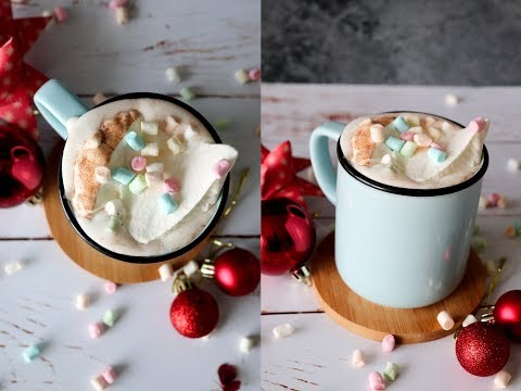 Hot Chocolate With Vanilla Sauce - By One Kitchen