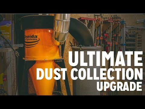 Ultimate Workshop Dust Collection Upgrade!