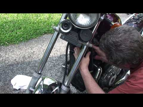 Removing and Flushing a motorcycle radiator