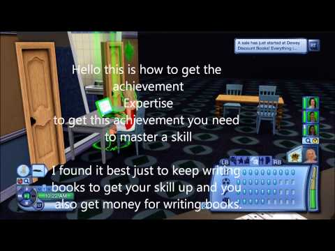The Sims 3 Expertise achievement tips