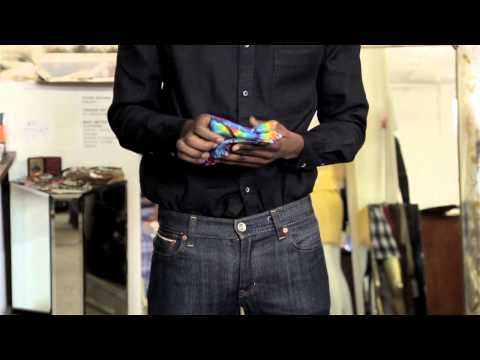 How to Fold Bandanas Into a Front Shirt Pocket : Classy Style