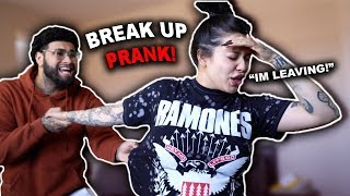 """""""BREAKING UP WITH MY PREGNANT GIRLFRIEND"""" PRANK *BACKFIRES*"""