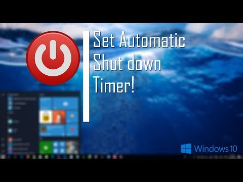 How to Shutdown Your PC Automatically Using Timer (Windows 10)