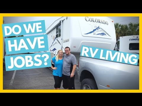 Do We Have Jobs As Young Full Time RVers? 💻Full Time RV Family