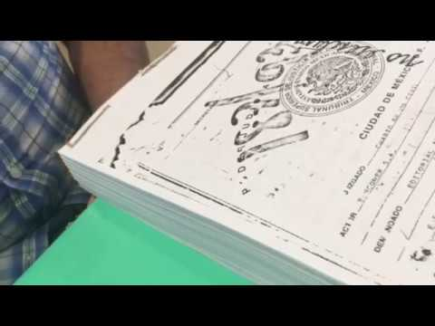 How to bind a bunch of papers into one booklet
