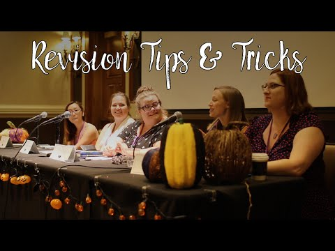 Revision Tips and Tricks: How To Edit Your Novel | Leviosa 2016