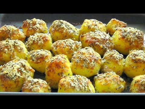 CHRISTMAS Roast Potatoes with Parmasan cheese & herbs