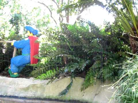 Some water ride in Legoland, San Diego, California