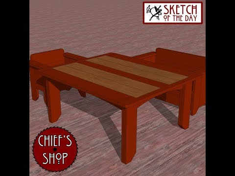 Chief's Shop Sketch of The Day: Pub Table