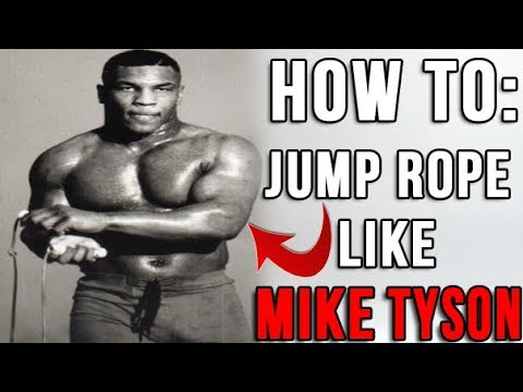HOW  TO: Jump Rope Like Mike Tyson - SQUAT JUMPS !?