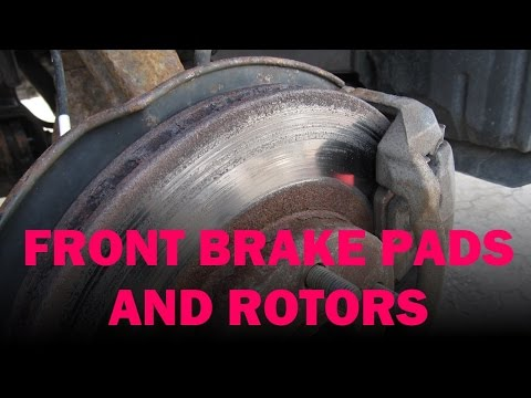 Honda Front Brake Pad and Rotor Replacement