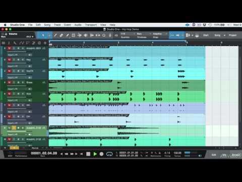 Studio One 104: Workflow Essentials - 2. Renaming Tracks