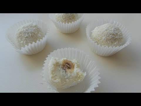 Homemade Ferrero Raffaello