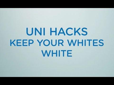 Uni Hacks: Keep your whites white
