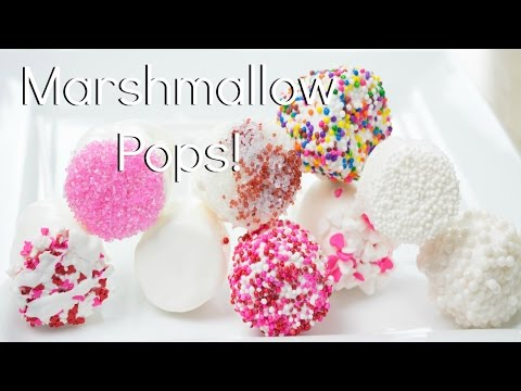DIY Marshmallow Pops