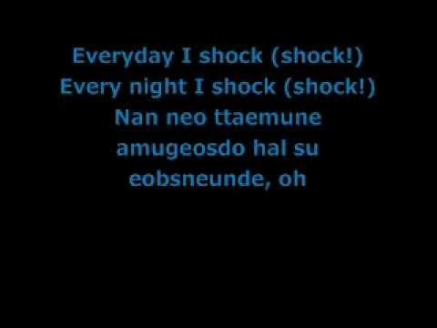 BEAST - 'SHOCK' [Lyrics]