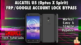 Alcatel U5 HD/5047U Remove google account,Bypass FRP Without