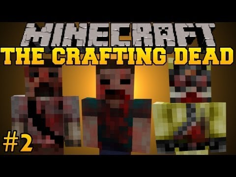 Minecraft: The Crafting Dead - Let's Play - Part 2 (The Walking Dead/DayZ Mod)