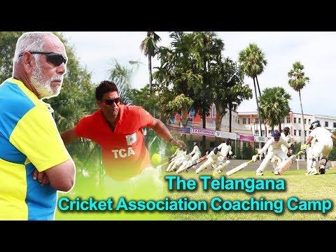 The Telangana Cricket Association Coaching Camp Hyderabad - #CricsportsOnline