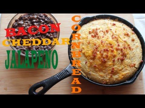 Bacon Cheddar Jalapeno Corn Bread