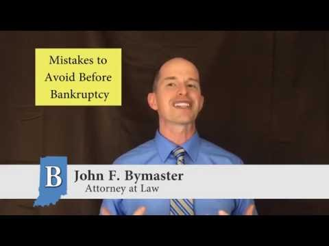 Mistakes to Avoid Before Filing Bankruptcy