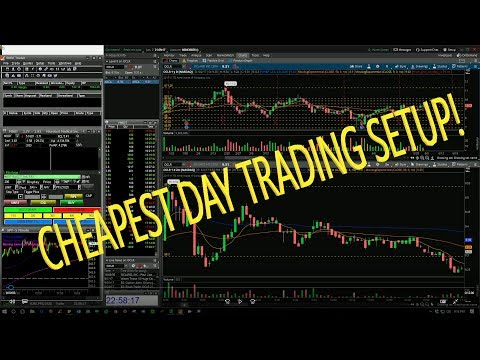 Cheap Day Trading Small Account Setup! SureTrader and ThinkorSwim TOS