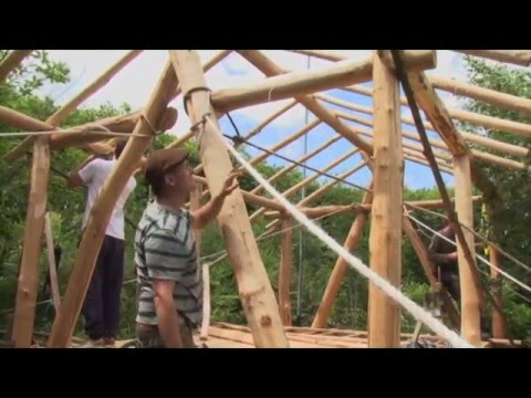 Building a Timber Frame Home: Small build