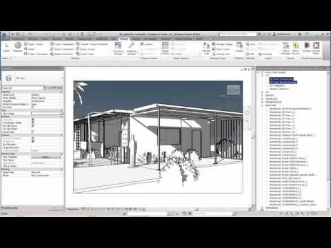 Managing the Revit Project Browser: View Usage