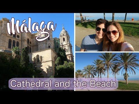 MÁLAGA VLOG: Inside the Cathedral, Visiting the Beach, and WAY Too Many Tapas
