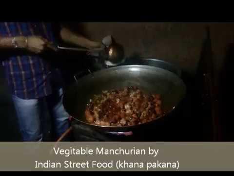 Manchurian - Veg machurian - street food