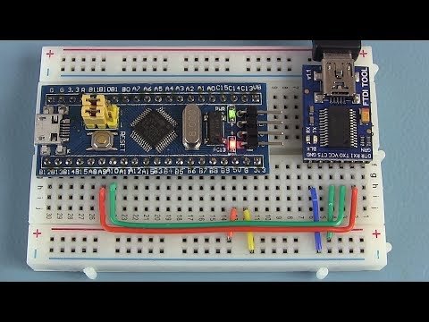 Getting started with the STM32 microcontroller - STM32F103C8T6 via Arduino
