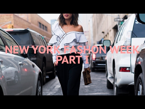 NEW YORK FASHION WEEK - Part 1 | Song of Style - Vlog#31 | Aimee Song