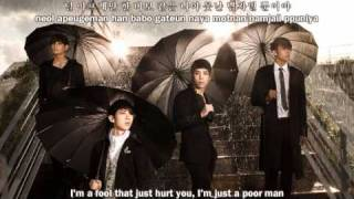 2AM - Can't Say I Love You (사랑한단 말 못해) - (eng&rom)