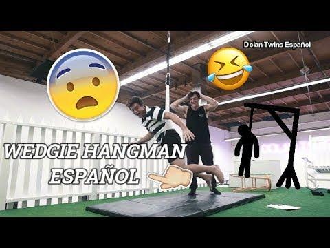 WEDGIE HANGMAN (Subtitulado en español) [Dolan Twins]