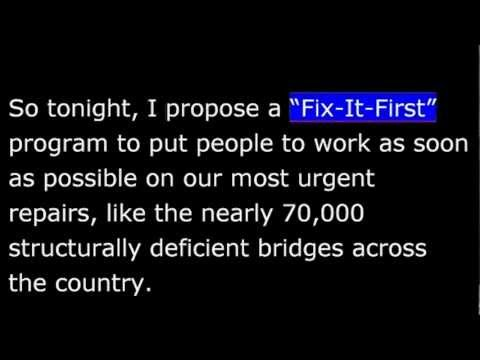 State of the Union 2013 - Fix-It-First - Infrastructure-housing - 20130212