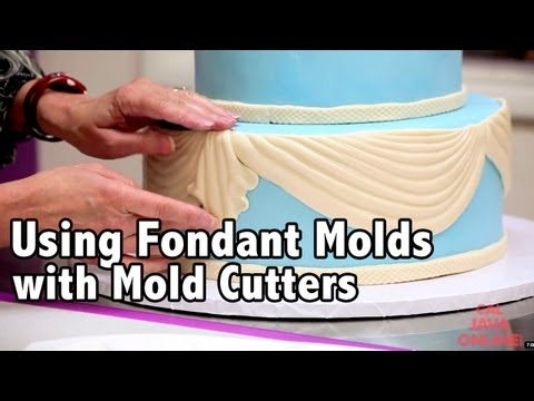 How to use Fondant Molds & Mold Cutters to easily decorate your cake | Cake Tutorials