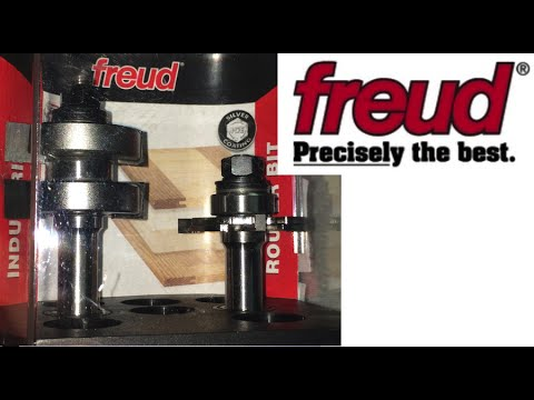 Adjustable Tongue & Groove Bit, Freud 99 036 - Unboxing
