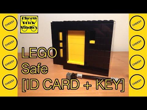 Lego Safe [ID CARD + KEY]