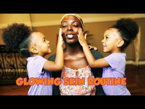 MAMA MCCLURE GLOWING SKIN ROUTINE
