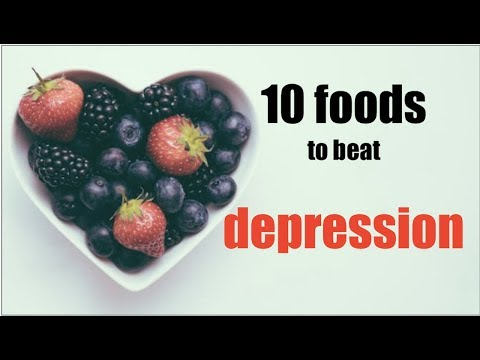 10 foods to beat depression