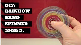 Download DIY Fidget Toy Spinner Rainbow Hand Spinner Easy | To Make DIY Rainbow Hand Spinner mod 22 Video