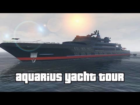 GTA V - Aquarius Yacht Tour