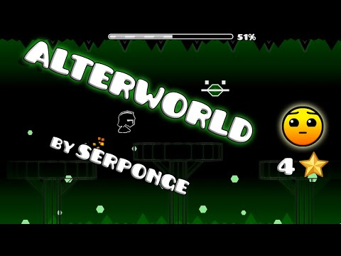 AlterWorld by Serponge | Geometry Dash [2.0.1] (Online Levels) | Runis