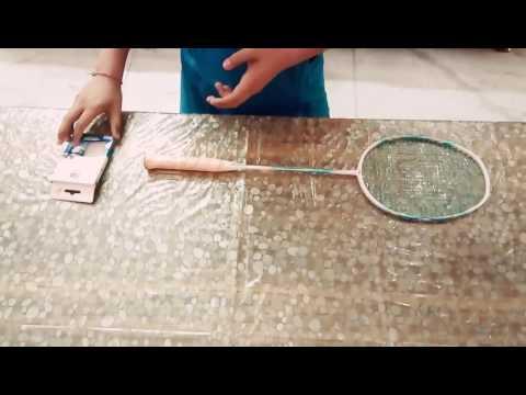 How to wrap Badminton Racket Grip